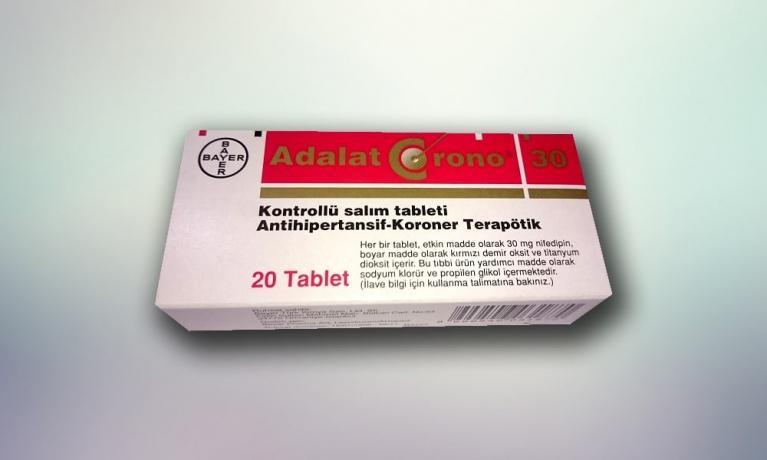 ADALAT® CRONO 30 mg Kontrollü Salım Tableti Nedir? Ne için Kullanılır?