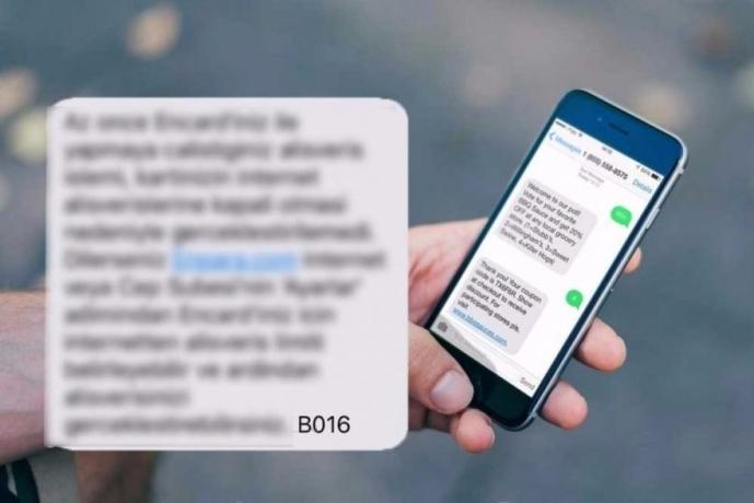 SMS Mesajlarının Sonunda Yer Alan (B) Kodları Nedir?